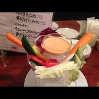 生野菜どっさり盛り