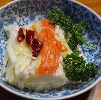 白菜の酢漬け