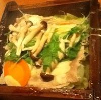 十勝野ポークと野菜のせいろ蒸し