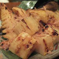 竹の子の炭火焼