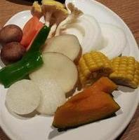 北海道産野菜盛り合わせ