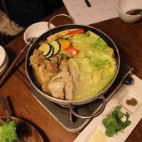グリーンカリー鍋