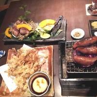 するめの天ぷら 牛たん炭火焼き 金賞あらびきソーセージ