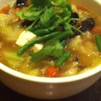 野菜いっぱい 五目野菜刀削麺
