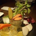 産直野菜のバーニャカウダ