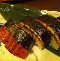 木温名物 うなぎの棒寿司
