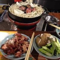 ジンギスカンは、もちろん美味しいです。焼き野菜も豊富で美味しいですよ!ペロッと食べちゃいます!