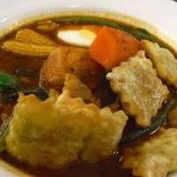 ラビオリのスープカレー