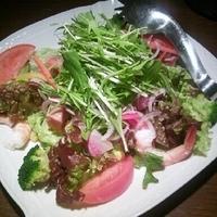 海鮮楽蔵サラダ