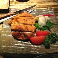 比内地鶏の塩焼き