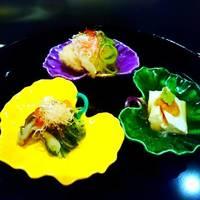 超絶(ちょうぜつ)会席~『料理長渾身全9品♪』季節の先附から旬魚3種盛や和牛炭火焼に食事はにぎり寿司