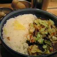 炒め野菜カレー