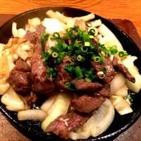 牛たんガーリック醤油焼き