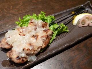 甲州赤鶏もも肉串焼き