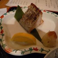 とびうおの焼き魚