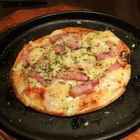 ベーコンのミニピザ
