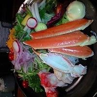 たらば蟹サラダ