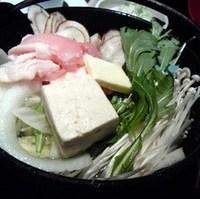 鶏塩バター鍋ランチ
