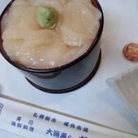 ホタテハーフ丼