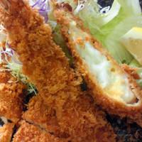 海老カツ定食