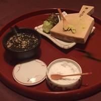 出来立て豆腐用薬味盛り