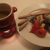 青森産にんにくグリル野菜のバーニャカウダ