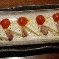 トマトとカマンベールチーズ焼き