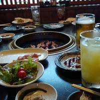 焼肉&唐次郎鍋(飲み放題コース)