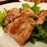 鶏もも肉の香草パン粉焼き