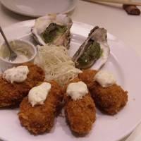 プレミアムランチセット+牡蠣フライ