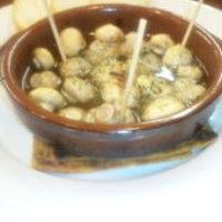 マッシュルームのニンニクオイル焼き