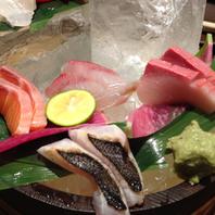 鮮魚5種造り盛