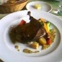 シャラン鴨のコンフィ