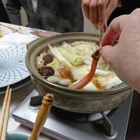 カニしゃぶ鍋