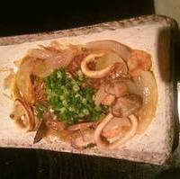 ツルツル海鮮チャプチェトマト風味