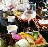 牛肩ロースのグリル、赤ワインのソース 明石野菜のロースト添え