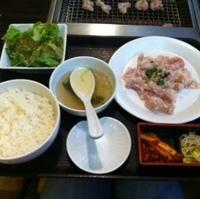 ランチタイム  鶏の塩麹漬け定食