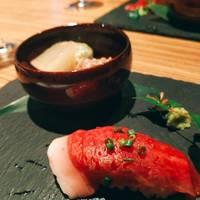仙台牛の肉寿司