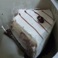 豆乳あずきシフォンケーキ