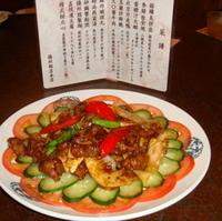 牛肉の揚州飯店特製ソース炒め