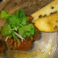 イイダコとオリーブの冷製トマト煮