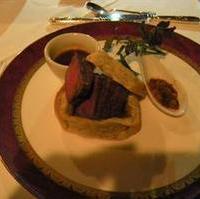 牛ヒレ肉の岩塩包み焼き