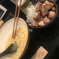 塩ラーメン 削り節 チャーシュー丼 生ビール