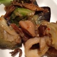 夏野菜とシーフードの和風アヒージョ