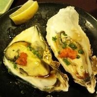 ポン酢牡蛎