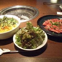 焼肉ビビンパ冷麺セット