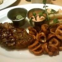 ステーキ&カラマリフライ