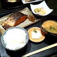 焼魚定食 銀鮭