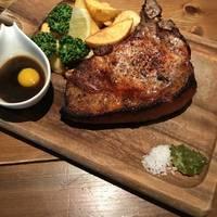 三浦豚のTボーンステーキ