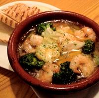 お野菜と小海老のガーリックオイル煮